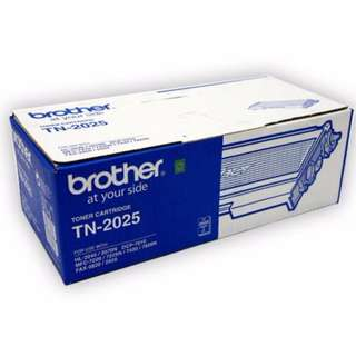 Original BROTHER TN2025 / TN 2025 PRINTER FAX TONER Cartridge