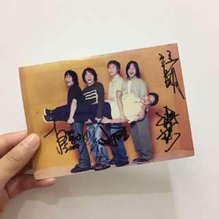 五月天簽名照(2000年)