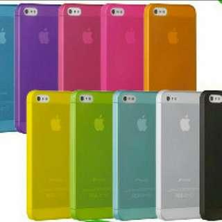 Iphone 5se /6/6plus 超薄磨沙殼