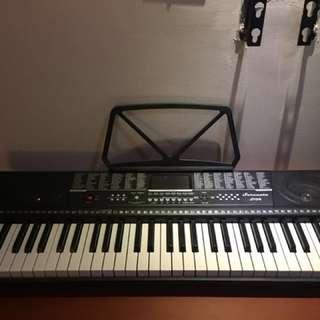 Serenata S104 61 Keys Professional Digital Keyboard (Black)