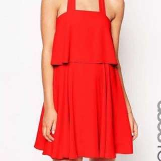 BNWT ASOS Bandeau Halter-neck Dress