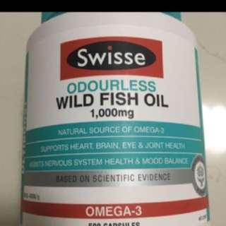 Swiss fish oil 500 capsules