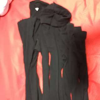 Pre-loved Marks & Spensers opaque tights and sheer pantyhose