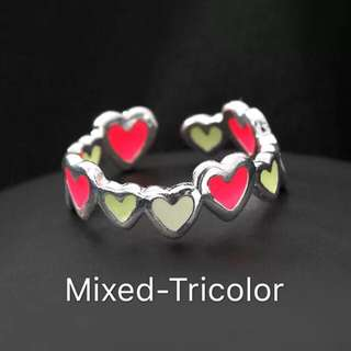 Adjustable Heart Ring!