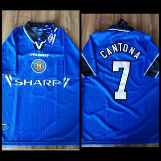 Manchester United jersey - Eric Cantona 3rd Kit 1996/1997