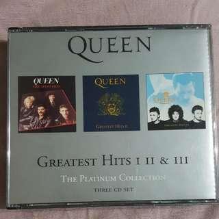 CD》Queen: Greatest Hits I  II  & III