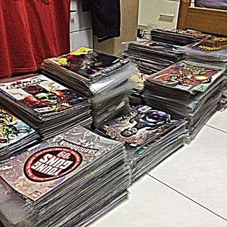 Assorted Marvel Comic Books
