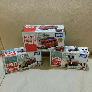 Disney TOMY TAKARA toys 玩具車仔