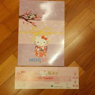 Hello Kitty Fans Phone Cards (New Items for Add Ons)