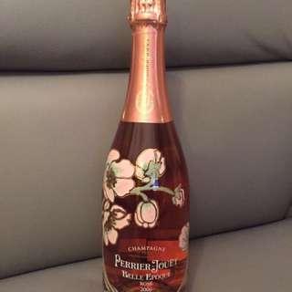 Champagne pierre jouet belle epoque rose 2006