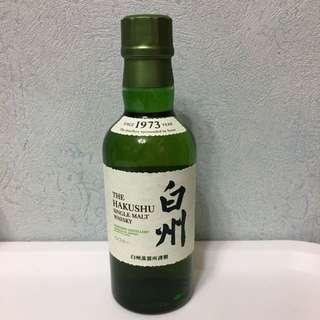 日本 白州威士忌 180ml