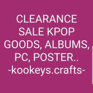 CLEARANCE SALE FOR Y.E.S