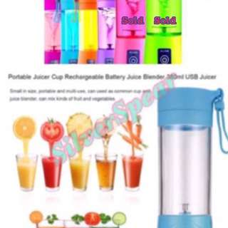 Stock arrive!!!  USB recharge juice mixer ( Can place order now!!! )