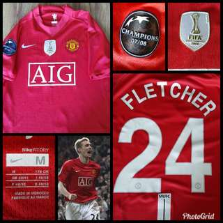 Manchester United Home jersey - Darren Flecther