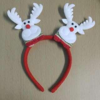 全新聖誕鹿仔頭飾