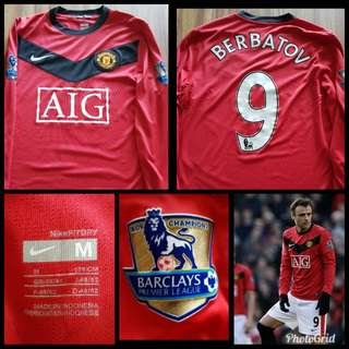 Manchester United Home jersey - Berbatov - Long Sleeve