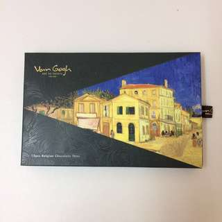 Can gogh Belgian chocolate thins 15pcs gift box