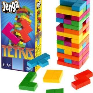 Jenga tetris (plastic)