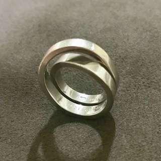 絕版 Cartier 18k金 戒指