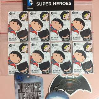 Limited Edition brand new DC Comics Superheroes White Design ezlink Card For $9.90.