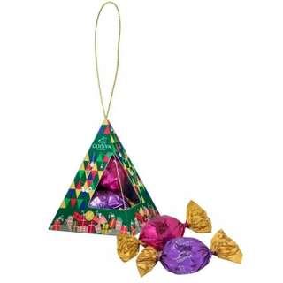 最後1盒 🆕🆕godiva 聖誕吊飾巧克力禮盒3粒 2017