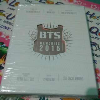 WTS BTS MEMORIES OF 2015