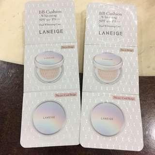 Laneige B.B. Cushion sample