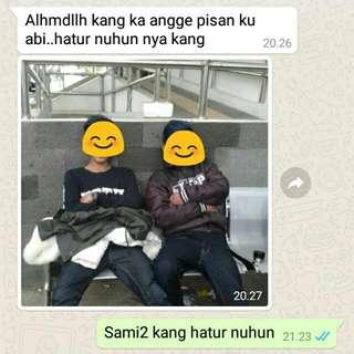 Hatur Nuhun Kang Tos D Order Barangna