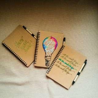 Personalized Journals (Handmade)