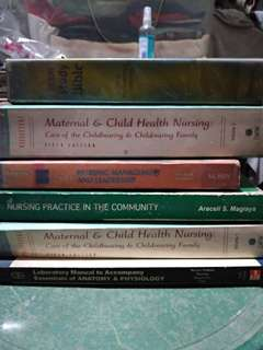 Assorted Nursing books