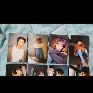 Official Wanna One Fancon Photocard PC Merchandise