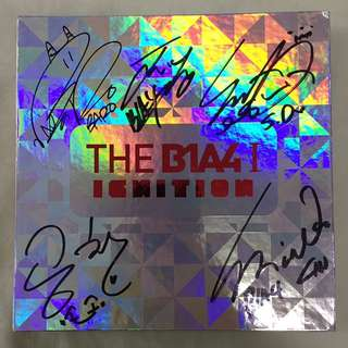B1A4 SIGNED ALBUM [ THE B1A4 I IGNITION ]