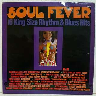 Soul Fever - 16 Rhythm & Blues Hits Vinyl Record