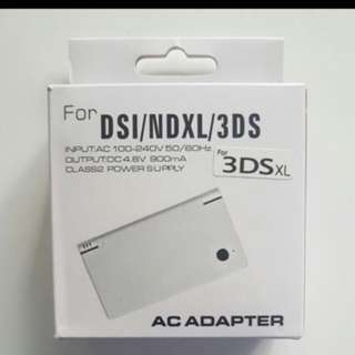 (Instocks) 3DSXL AC Adapter Charger