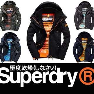 🚚 冬天到了誠收一件superdry(M)二手外套