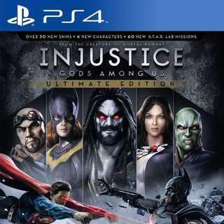Injustice: Gods among us (Deluxe Edition)