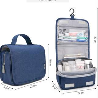 *Brand New* Travel Toiletry Bags in Navy Blue