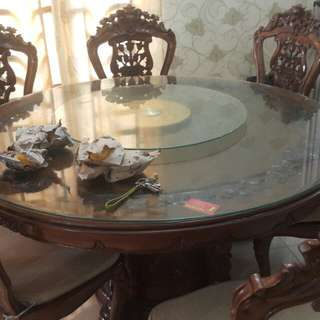 Barang Baik Dining Table with Chair