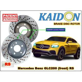"Mercedes Benz GLC200 disc rotor KAIDON (front) type ""RS"" spec"