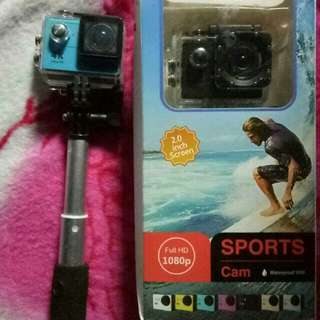 🚚 Sports cam water proof