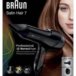 Braun Satin Hair 7 IONTEC Dryer
