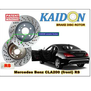 """Mercedes Benz CLA200 disc rotor KAIDON (front) type """"RS"""" spec"""