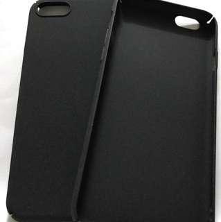 I phone 7 黑色磨沙手機殻(2個)
