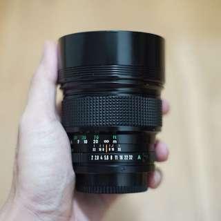 Canon 135mm F2 FD Mount Lens SLR Film