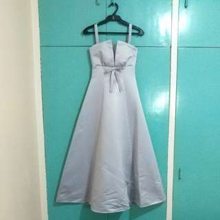Powder Blue Gown from X