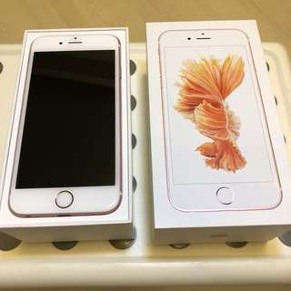 Apple iPhone 6S 128GB Rose Gold 玫瑰金 95%new