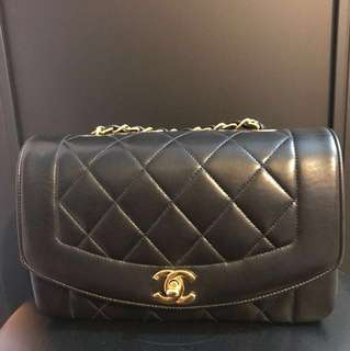 Chanel Diana small bag 23cm 戴安娜 手袋