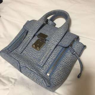 Philip Lim Blue Shoulder Bag