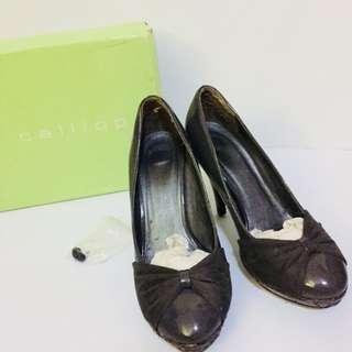 CALLIOPE Palma Grey High Heels