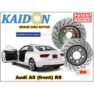 "AUDI A5 disc rotor KAIDON (front) type ""RS"" spec"